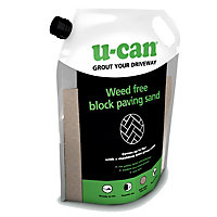 U-Can Weed Free Paving sand, 12kg Bag