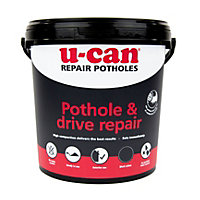 U-Can Ready mixed Pothole Repair mortar, 10kg Tub