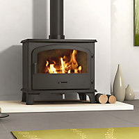 Be Modern Ohio Black Solid fuel Stove