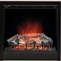 Be Modern Roxette Black Electric fire suite