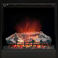 Be Modern Langdon Black Electric fire suite