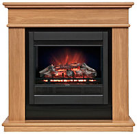 Be Modern Avalon Black Electric fire suite