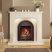 Be Modern Everett Black Gas Fire