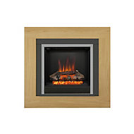 Be Modern Brandon Black Electric Fire Suite