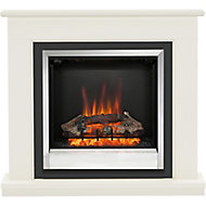 Be Modern Ardington Soft white Electric Fire Suite