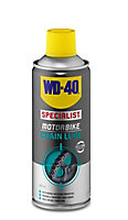 WD-40 Motorbike chain Lubricant, 400ml Can