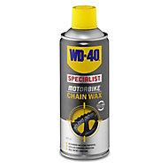 WD-40 Motorbike chain Wax, 400ml Can