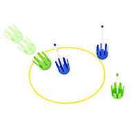 Plastic Lawn dart game