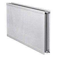 Barlo Round top Type 22 double Panel radiator White, (H)400mm (W)1000mm