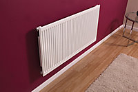 Barlo Type 11 single Panel radiator White, (H)400mm (W)600mm