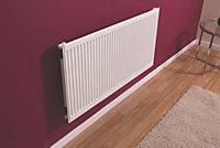 Barlo Type 11 single Panel radiator White, (H)400mm (W)1200mm