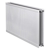 Barlo Round top Type 22 double Panel radiator White, (H)600mm (W)1100mm