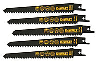 DeWalt Universal fitting Reciprocating saw blade DT2362-QZ, Pack of 5