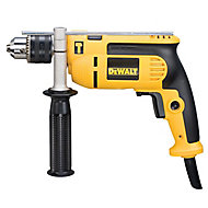 Dewalt 650W 240V Corded Keyed chuck Brushed Hammer drill DWD024K-GB
