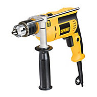 Dewalt 650W 240V Corded Keyed chuck Brushed Percussion drill DWD024K-GB