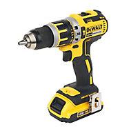 DeWalt XR 18V 2Ah Li-ion Cordless Combi drill 2 batteries DCD795D2-GB