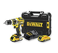 Dewalt XR Cordless 18V 2Ah Lithium-ion Combi drill 2 batteries DCD795D2-GB