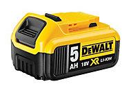 DeWalt 18V XR Li-ion 5Ah Slide pack Battery