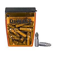 DeWalt PZ2 Screwdriver bits 25mm, Pack of 25