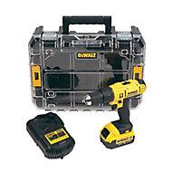 Dewalt Cordless 18V 4Ah Lithium-ion Combi drill 1 battery DCD776M1T-GB