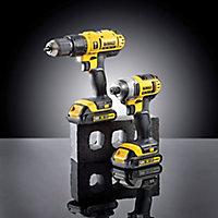 Dewalt XR 18V 1.3Ah Lithium-ion Combi drill & Impact driver 2 batteries DCZ298C2-GB