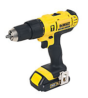 DeWalt XR Cordless 18V 1.5Ah Li-ion Combi drill 2 batteries DCD776S2T-GB