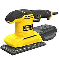 Stanley FatMax 230V Corded 280W 1/3 Sheet sander KFFMEW210K-GB