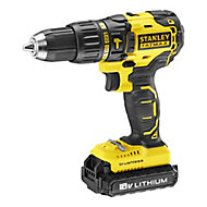 Stanley FatMax Cordless 18V 2Ah Brushless Combi drill KFMCD628D1K-GB