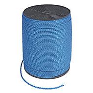 Blue Polypropylene Rope, (L)500m (Dia)6mm