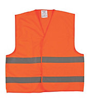 Portwest Orange Hi-vis waistcoat Large