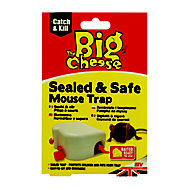 The Big Cheese Seal Mouse trap