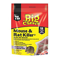 The Big Cheese Rat & mouse bait sachets 150g