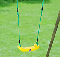 Plum Plastic Swing bench