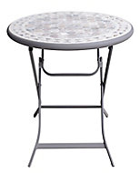 Kythros Metal 2 seater Mosaic Coffee table