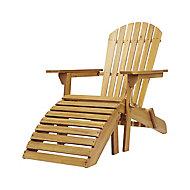 Adirondack Wooden Armchair