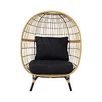 Apolima Rattan effect Egg Chair