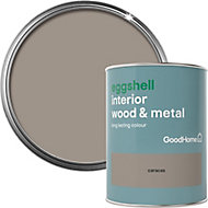 GoodHome Caracas Eggshell Metal & wood paint, 0.75L