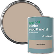 GoodHome Santo domingo Eggshell Metal & wood paint, 0.75L