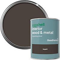 GoodHome Bogotá Eggshell Metal & wood paint, 0.75L