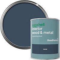 GoodHome Vence Eggshell Metal & wood paint, 0.75L