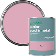 GoodHome Hyogo Eggshell Metal & wood paint, 0.75L