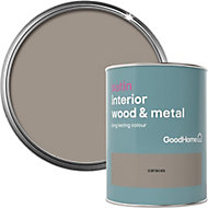 GoodHome Caracas Satin Metal & wood paint, 0.75L
