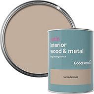 GoodHome Santo domingo Satin Metal & wood paint, 0.75L