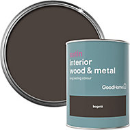 GoodHome Bogotá Satin Metal & wood paint, 0.75L