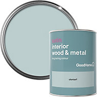 GoodHome Clontarf Satin Metal & wood paint, 0.75L