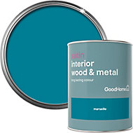 GoodHome Marseille Satin Metal & wood paint, 0.75L