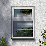 GoodHome Clear Double glazed White uPVC Top hung Window, (H)1115mm (W)1190mm