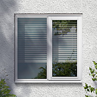 Clear Double glazed White RH Window, (H)895mm (W)1195mm