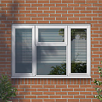 GoodHome Clear Double glazed White Window, (H)1045mm (W)1765mm