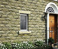Clear Double glazed White RH Window, (H)895mm (W)625mm